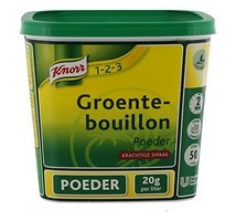 Knorr 1-2-3 groentebouillon poeder 1 kilo