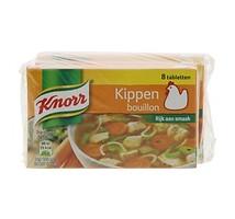 Knorr kip bouillon blokjes 4 stuks