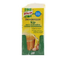 Knorr drink bouillon kip 10 x 5 sticks