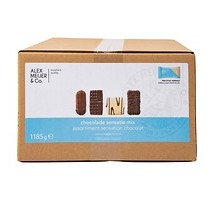 A.M. koekjesmix chocolade 125 stuks