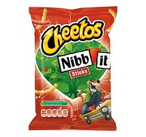 Cheetos nibbit sticks chips doos 30 zakjes x 22 gram