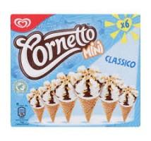 Ola cornetto mini chocolade 6 stuks