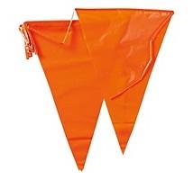 Slingers oranje vlag 10 meter