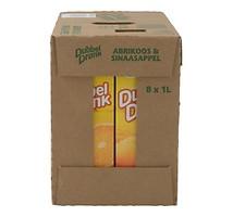 Appelsientje dubbeldrank abrikoos-sinaasappel 8 x 1 liter