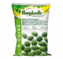 Bonduelle gehakte spinazie boullets zak 2,5 kilo